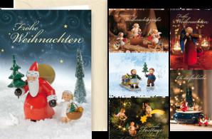 Himmlische Weihnachtsgrüße.Engelberge Und Zubehör Wendt Kühn Grünhainichen